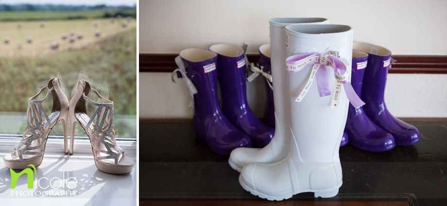 hunters wellies