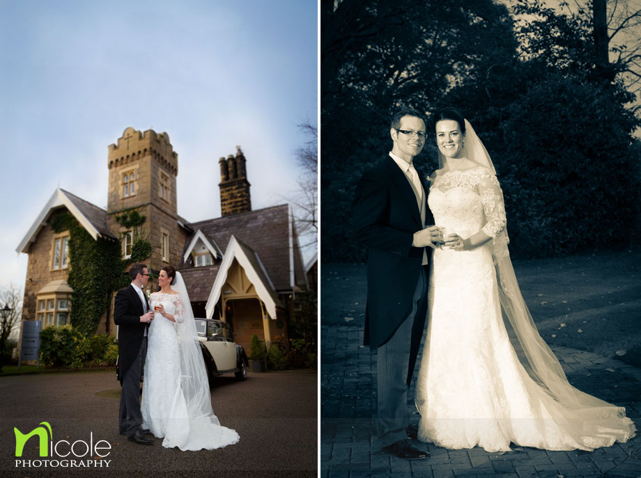 west tower bride and groom