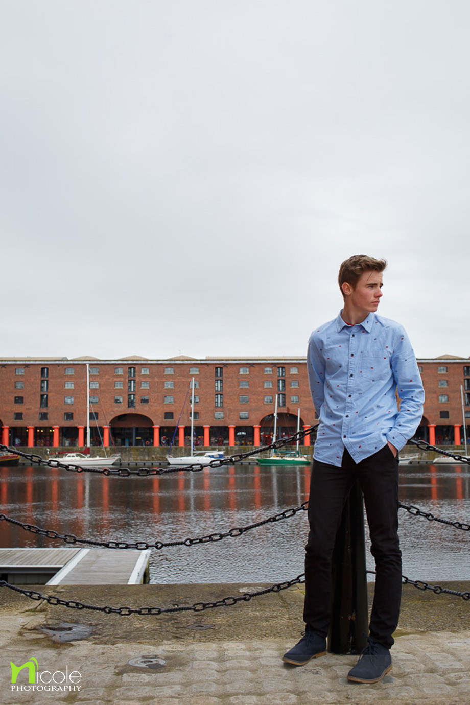 Alex the Docklands Liverpool Nicole photography
