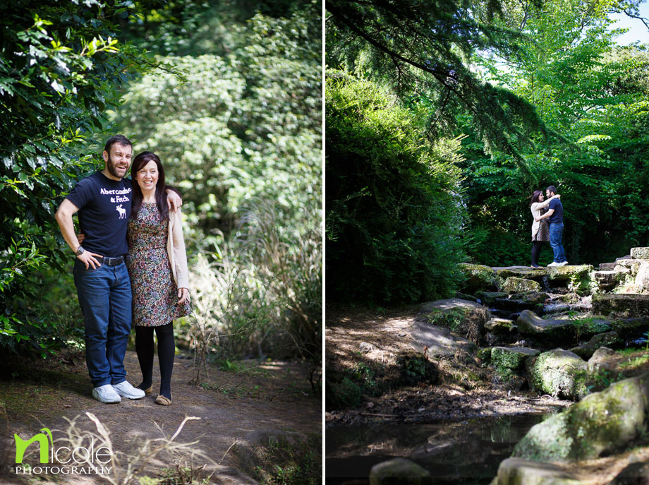 Pre wedding shoot Fairy Glen and Sefton Park