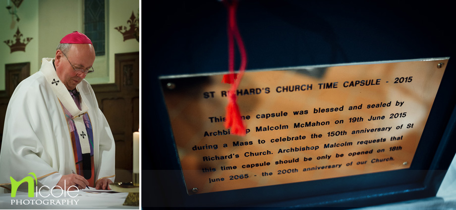 arch bishop time capsule
