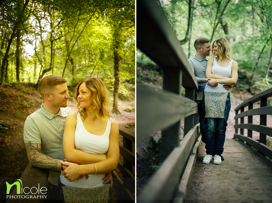 pre wedding shoot we pre woods nicole photography