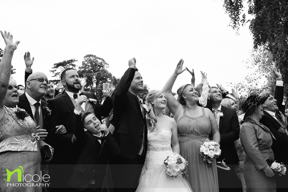 rowton hall wedding by Nicole photography