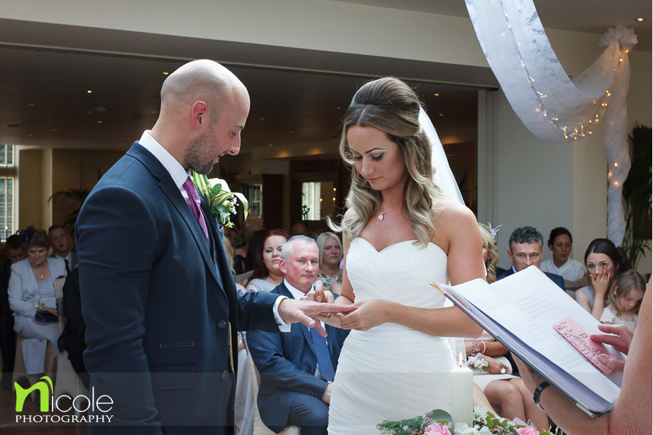 ceremony at mitton hall