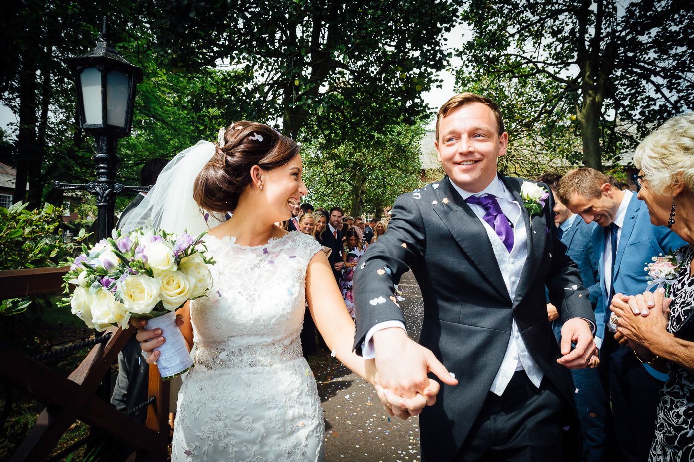 Wedding at Formby then West Tower Hotel