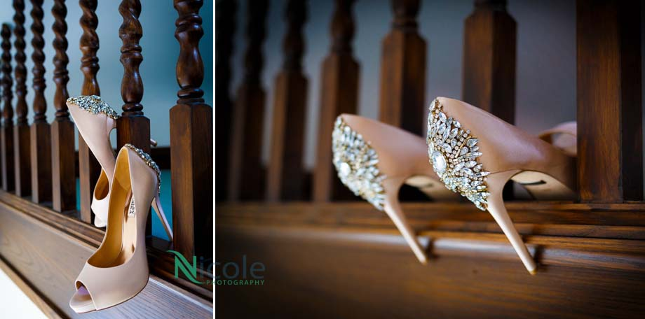 pink shoes-lancashire wedding photography