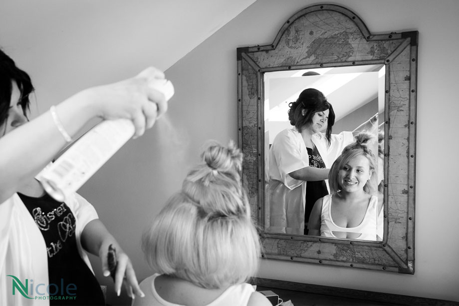 bridal preparations - lancashire wedding photography