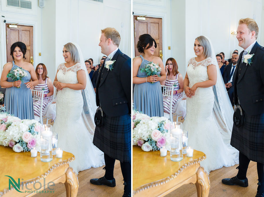 ballroom, west tower - Lancashire wedding photography