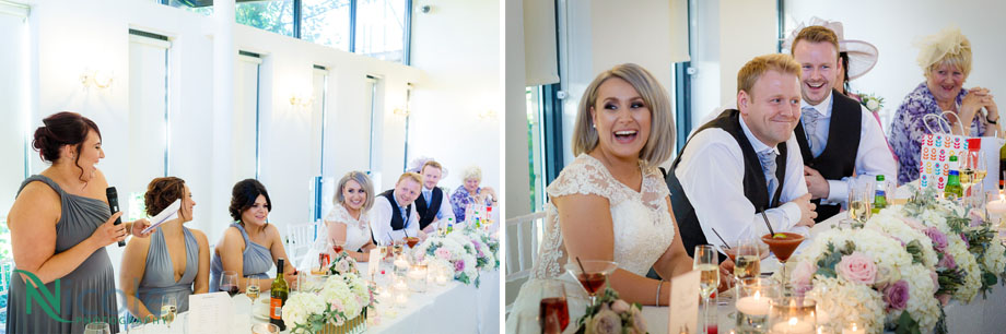 ball room, west tower - Lancashire wedding photography