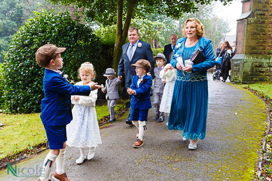 pageboys and flower girls