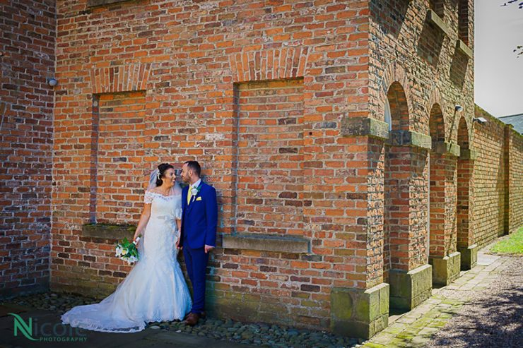 couple at meols hall