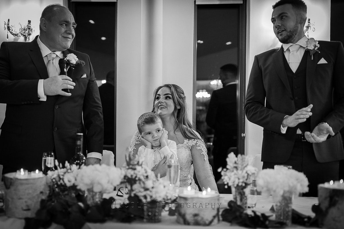 groom and fathers speeches